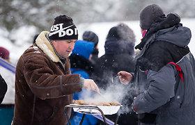 """""""Winter rally 2019"""" žiūrovai"""