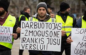 Solidarumo eitynės su darbuotojais iš Turkijos