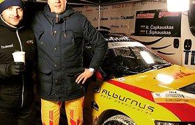 """Ramūnas Čapkauskas """"Winter Rally"""" varžybose"""