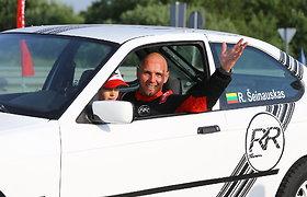 Renaldas Šeinauskas džiaugiasi pasiektu rekordu Palangos lenktynėse