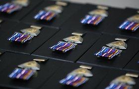 Šiauliuose – Baltijos oro policijos kontingentų pasikeitimo ceremonija