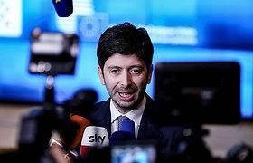 Italijoje iki balandžio pabaigos pratęsiama dėl COVID-19 įvesta nepaprastoji padėtis
