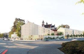 Architektai pradeda konsultacijas su visuomene dėl Šv.Jokūbo ligoninės projekto