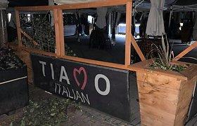 """Nuniokotas """"Tiamo Italian"""" restoranas"""
