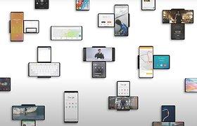 Idealaus dvigubo ekrano sprendimo ieškanti bendrovė LG pasiūlė dar nematytą telefoną