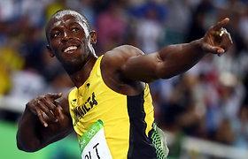 """Usainą Boltą siutina naujieji superbatai: """"Tai – juokinga"""""""