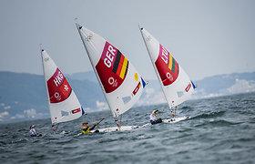 Lietuvos buriuotojai Tokijo olimpinėse žaidynėse