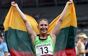 Pagaliau!!! Laura Asadauskaitė įspūdingu finišu išplėšė sidabrą Lietuvai!