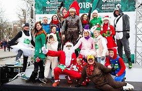 """Kalėdinis """"Eurovaistinės"""" bėgimas 2018"""