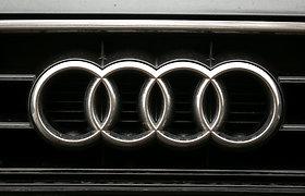 """""""Audi"""" iki 2033 metų nustos gaminti iškastiniu kuru varomus automobilius"""