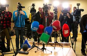Lietuvos žurnalistai ragina vienytis demokratines šalis ir ginti Baltarusijos žurnalistus