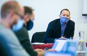 Rolando Jaručio spaudos konferencija