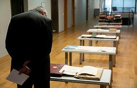 Tarpukario Lietuvos užsienio reikalų ministerijos archyvo dalies perdavimas