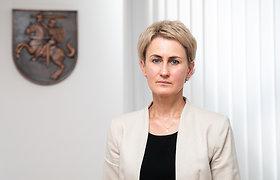 Generalinė prokurorė apie migrantų nusikaltimus ir atsakymą Baltarusijos teisėsaugai