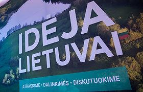 """""""Idėja Lietuvai"""" žengia į naują idėjų gyvendinimo etapą"""