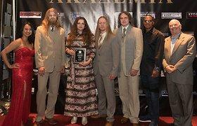 """Lietuvos rokeriai """"The Skys"""" pelnė sidabro medalį """"Global Music"""" apdovanojimuose"""
