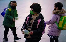 Kinijoje poroms leista auginti iki trijų vaikų