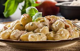 Purūs ir minkštučiai bulvių virtinukai