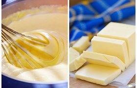 """Prabangiam skoniui – sviestas: kad išeitų tešla, o ne """"buza"""", reikia jausmo"""