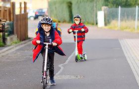 """Projektas """"Būk saugus kelyje"""" siekia atkreipti jaunųjų eismo dalyvių dėmesį"""