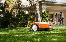 Kaip išsirinkti vejos robotą? Kraštovaizdžio specialisto T.Gursko patarimai