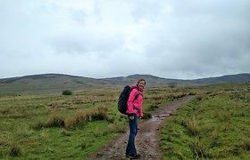 100 km per parą, savaitės žygis Škotijoje ir nepagydoma priklausomybė nuo ėjimo