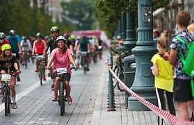 Kaip rengtis minant dviratį?