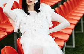 Dizainerės I.Miltienienės vestuvinės suknelės