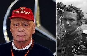 """""""Formulės-1"""" pasaulis gedi: mirė legendinis Austrijos lenktynininkas Niki Lauda"""