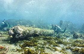 """Įspūdingas 200 m. senumo radinys jūros dugne: laivą pasiglemžė didelį pavojų kėlęs """"Košmarų rifas"""""""