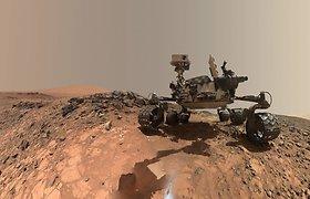 Marse galėjo būti gyvybės formų – rasta jai būdingų organinių medžiagų