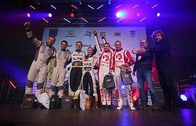 """""""Winter Rally"""" nugalėtojų titulą pelniusi čekų komanda pripažino, jog lengva nebuvo"""