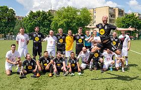 "LNK ir ""Radiocentro"" futbolo rungtynės"