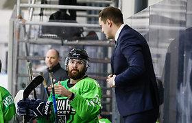 """Rungtynių pabaigoje išsigelbėjęs """"Kaunas Hockey"""" pratęsime įveikė """"Energija-GV"""""""