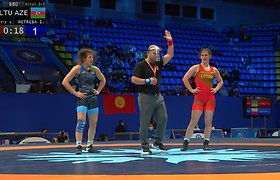 Turnyre Kijeve – bronzinė D.Domikaitytės tradicija