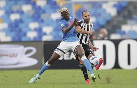 """Persvaros neišlaikiusi """"Juventus"""" iš Neapolio grįžta be taškų"""
