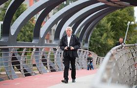 Jonavoje atidarytas naujas pėsčiųjų ir dviratininkų tiltas