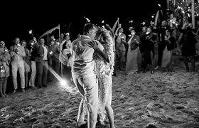 Viktorijos Šaulytės ir Juliaus Mockos vestuvių akimirkos