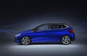 """""""Hyundai"""" naujasis modelis ,,i20"""""""