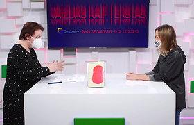 """Vilniaus knygų mugės """"Šortai"""": Elžbieta Banytė kalbina Ievą Toleikytę"""