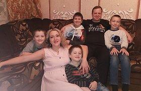 Ingos ir Mariaus Sabonių šeima