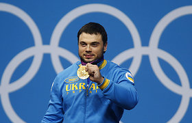 Iš dopingą vartojusio ukrainiečio atimtas olimpinis auksas