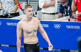 D.Rapšys ir A.Šidlauskas pateko į finalinius plaukimus