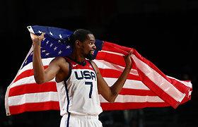 """Po finalo – liaupsės rekordą pakartojusiam K.Durantui: """"Pasaulyje daugiau tokių nėra"""""""