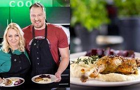 """Velykų stalui – Violetos antiena """"Confit"""" ir kuo pakeisti bulvių košę, kad neaugtų kilogramai"""