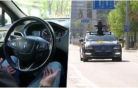 Technologijos sparčiai žengia į priekį – Kinijos gatvėmis jau važinėja taksi automobiliai, kuriems nereikia vairuotojo