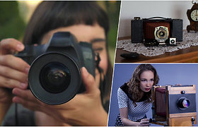 Kaip atsirado fotografija: viskas prasidėjo nuo dėžutės su skylute ir vos 1-2 nuotraukų per dieną