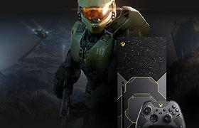 """""""Halo Infinite"""" belaukiant, """"Microsoft"""" pristatė įspūdingą """"Xbox Series X"""" konsolę"""
