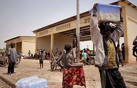 JT: neramiuose Nigerio vakaruose per 22 tūkst. moksleivių negali lankyti mokyklos