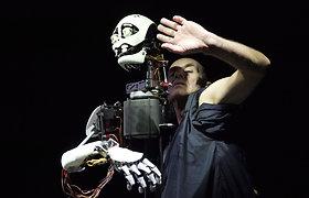 Lėlininkė I.Meinhardt: robotai – labai artimi tradicinei lėlių teatro lėlei